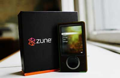 Zune dari Microsoft